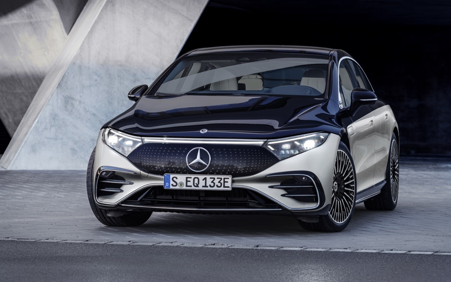 Mercedes EQS elettrica