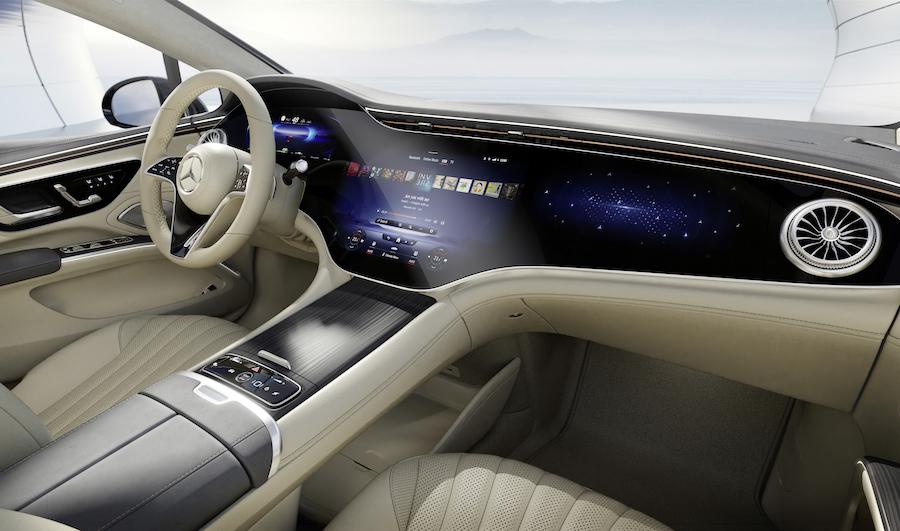 Mercedes EQS uscita sul mercato
