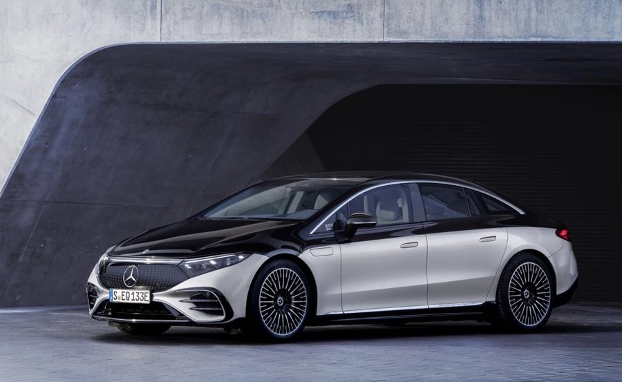 Motore di Mercedes EQS