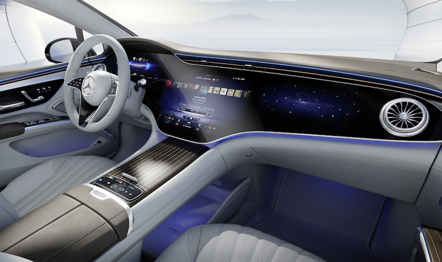 infotaiment Mercedes MBUX Hyperscreen