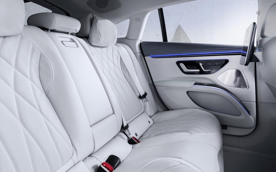 sedili di Mercedes EQS