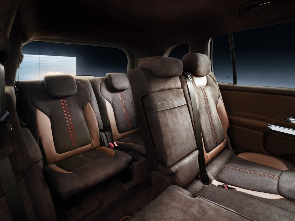 Mercedes GLB Concept 7 posti