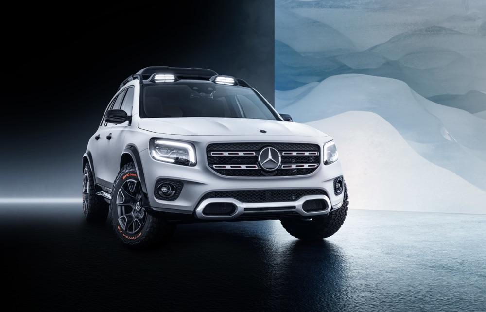 Mercedes GLB Concept, le caratteristiche