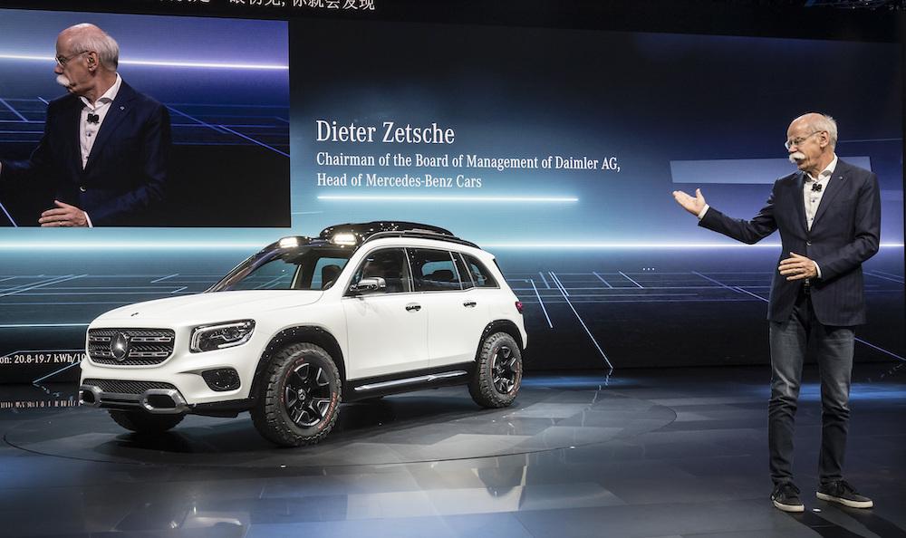 Nuova Mercedes GLB Concept