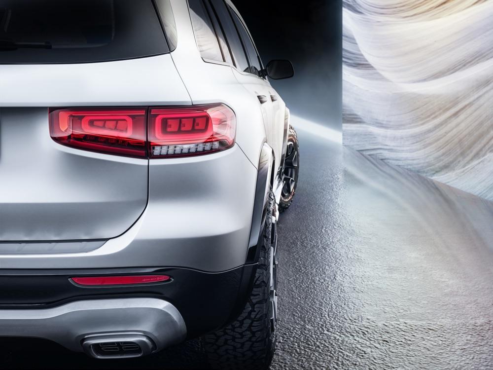 Scheda tecnica di Mercedes GLB Concept