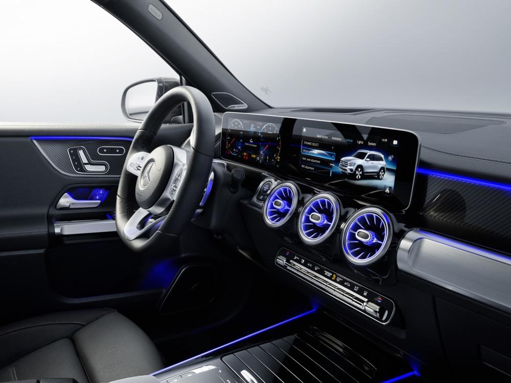 Mercedes GLB infotainment MBUX