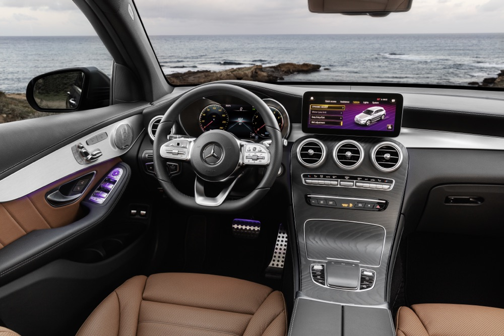 Interni di Mercedes GLC 2019