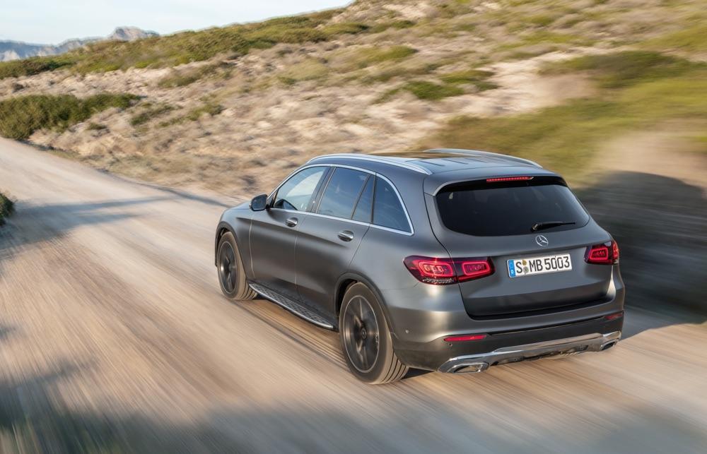 Novità di Mercedes GLC restyling