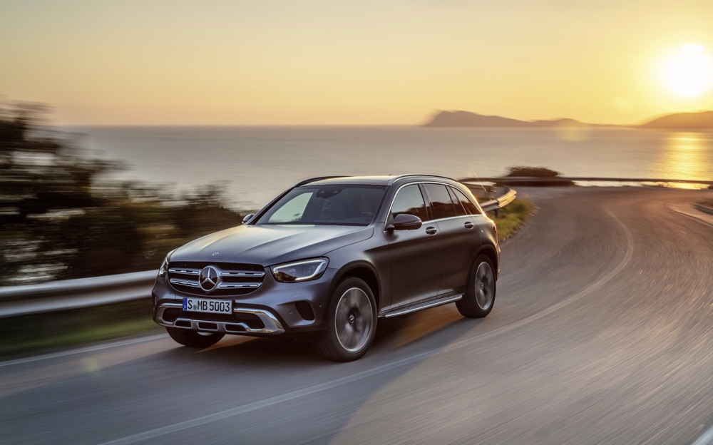 Restyling di Mercedes GLC