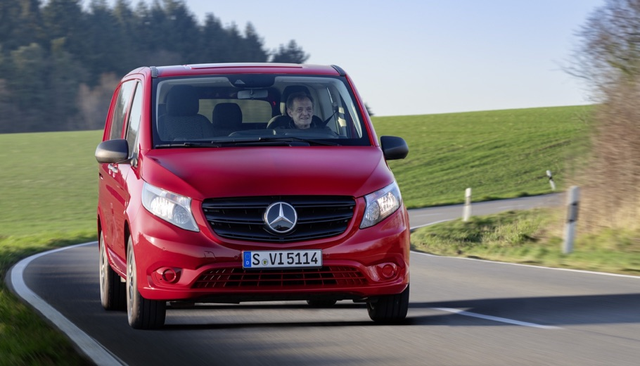 Mercedes Vito restyling 2020