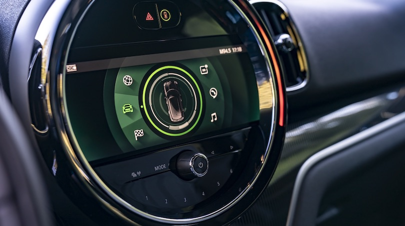 infotainment di mini countryman 2020