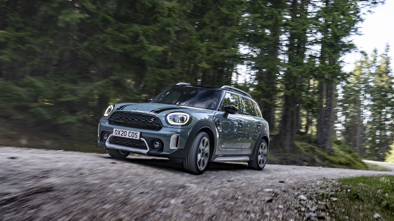 trazione all4 mini countryman restyling