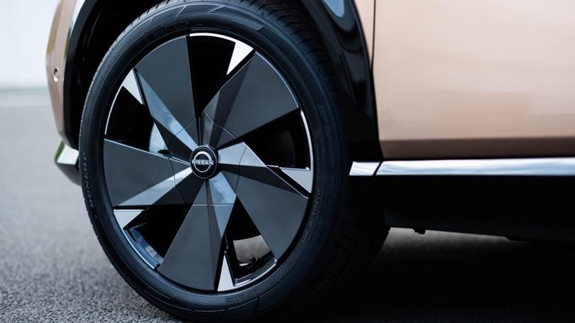 Cerchi da 19 di Nissan Ariya
