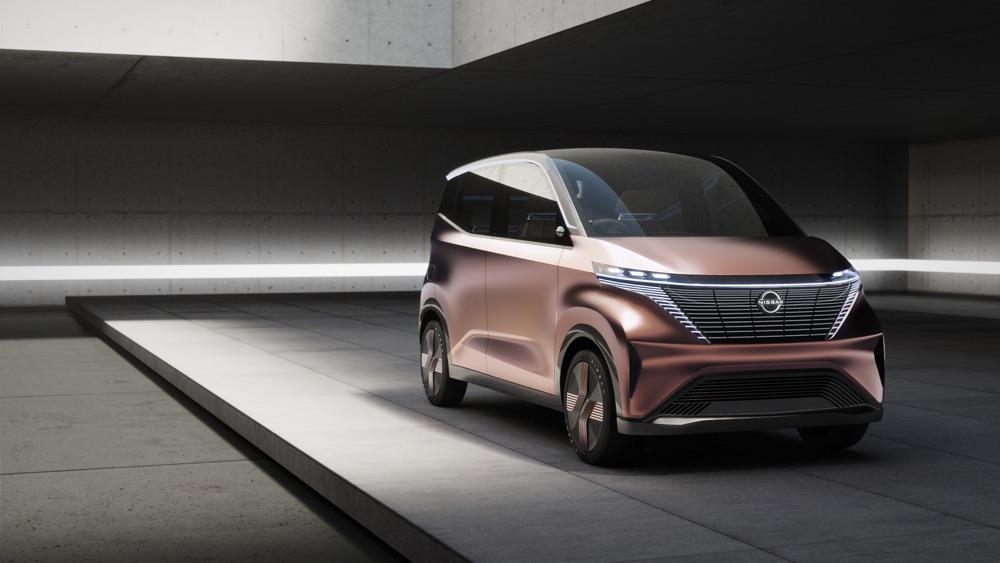 ADAS Nissan IMk Concept
