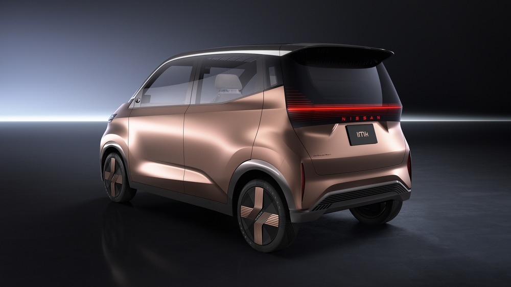 Citycar elettrica Nissan
