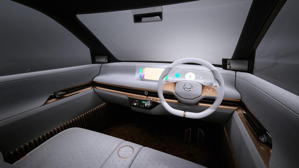 Interni di Nissan IMk Concept