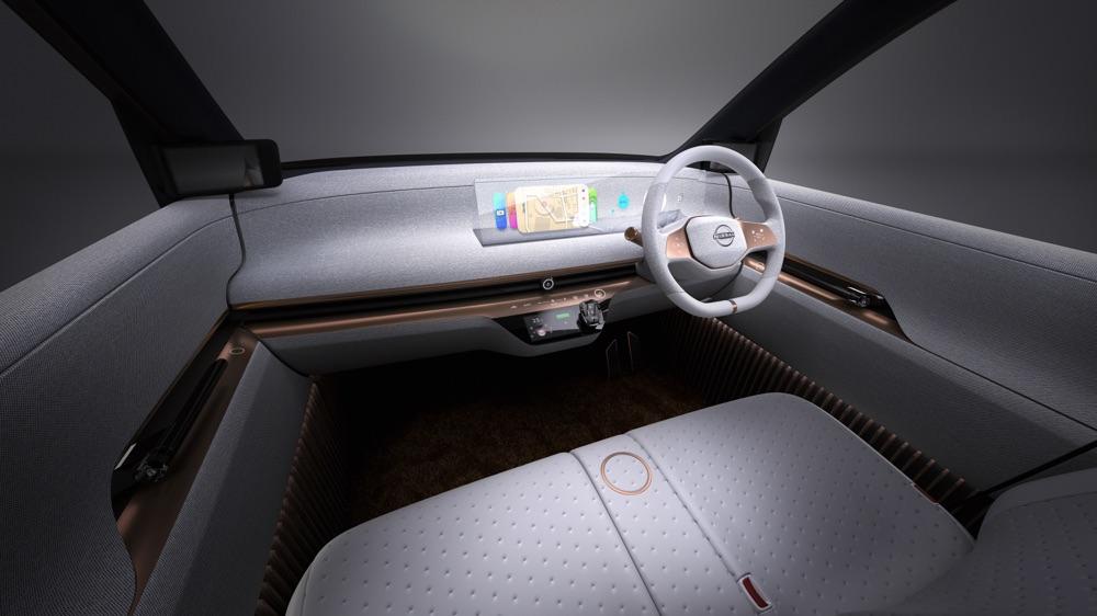 Materiali interni di Nissan IMk Concept