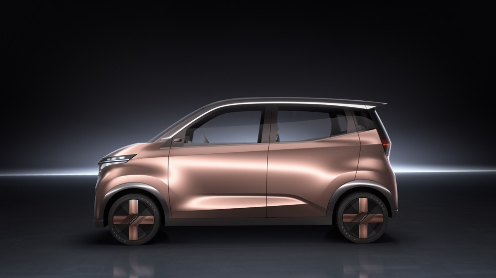 Nissan IMk Concept Invisible to Visible