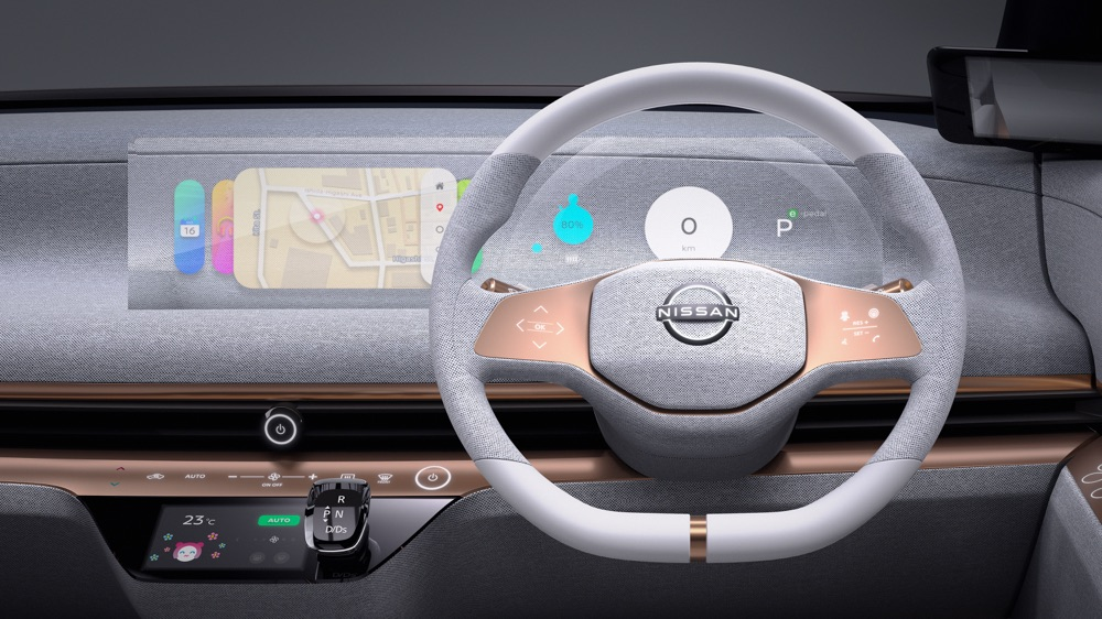 Nissan IMk Concept infotainment