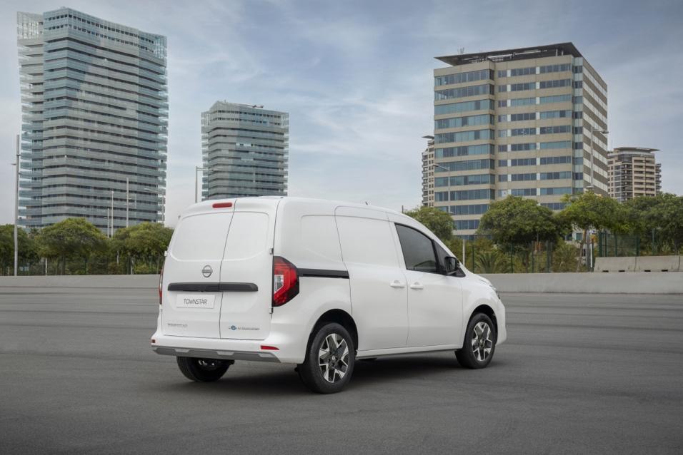Nissan Townstar elettrico