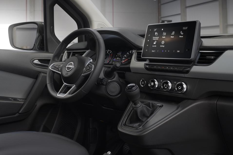 Nissan Townstar infotainment