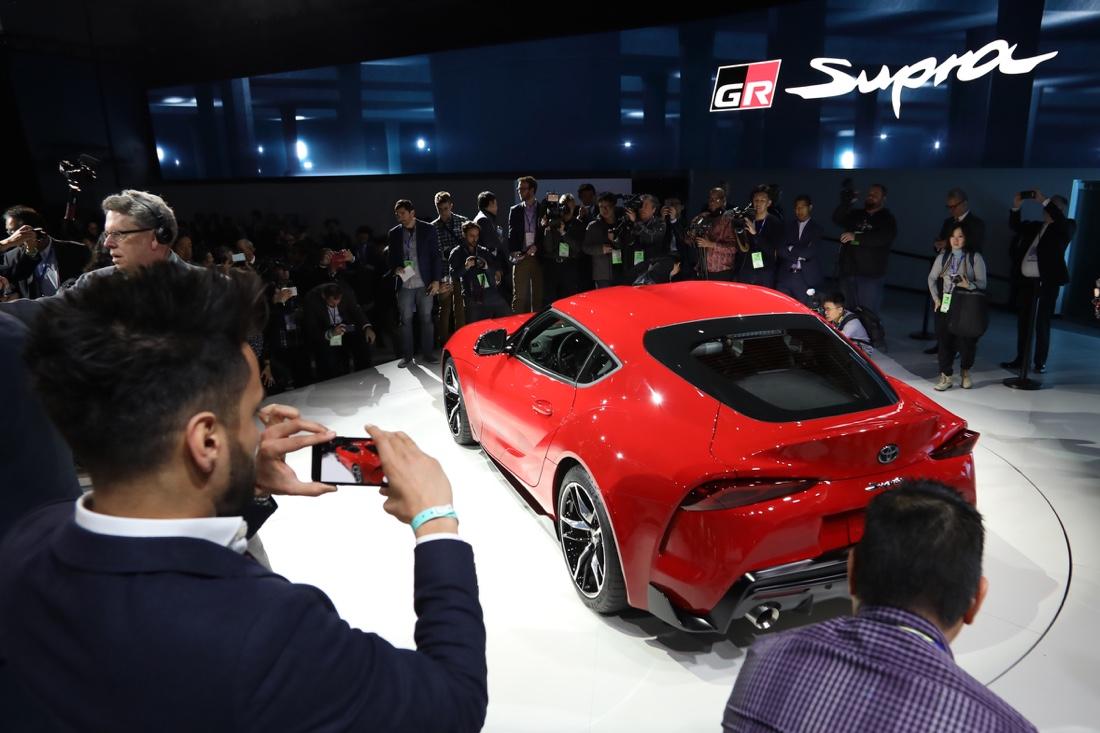 Motori di nuova Toyota Supra
