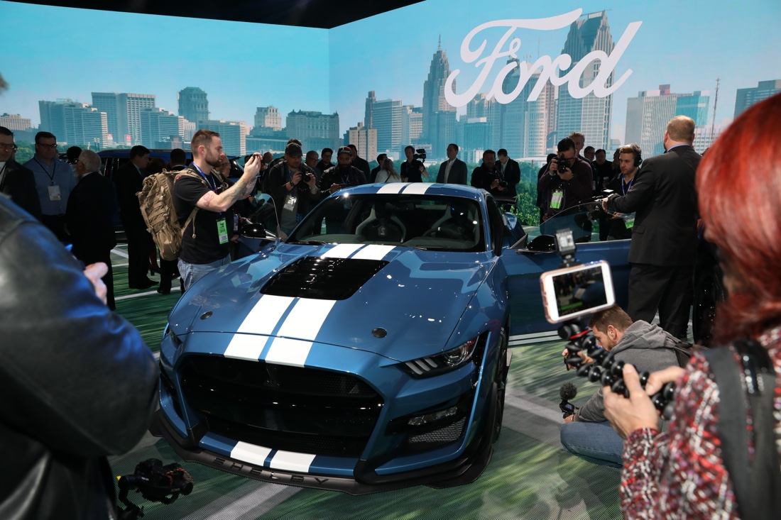Nuova Mustang Shelby GT 500
