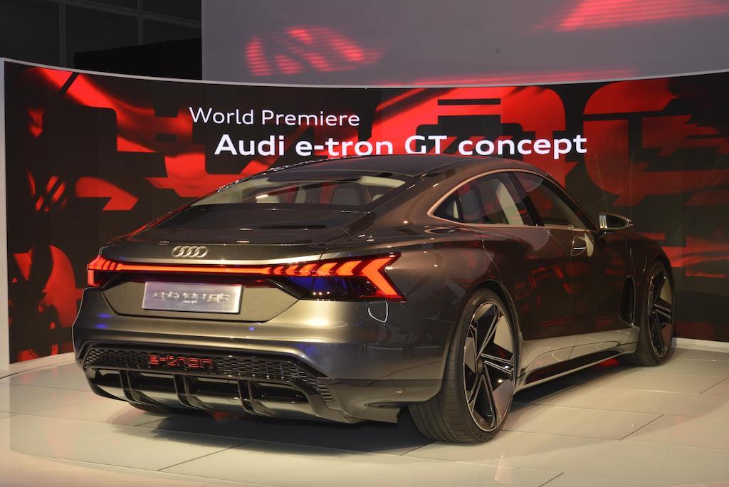 Prestazioni di Audi e-tron GT Concept