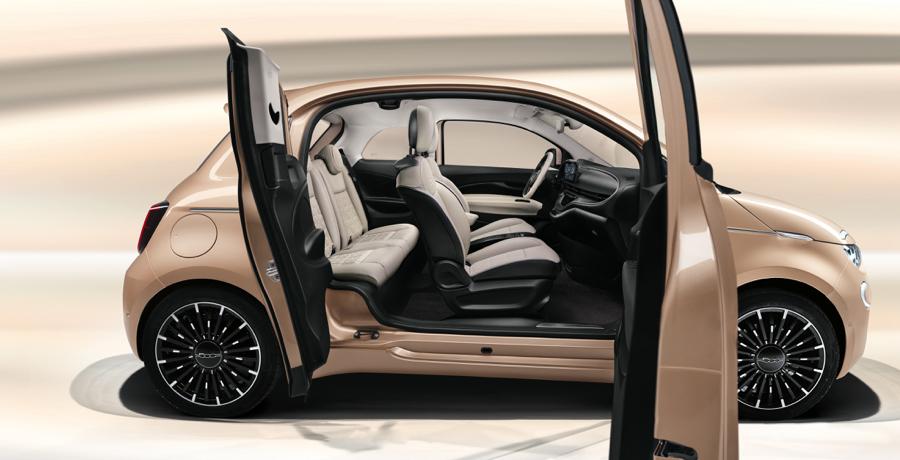 Caratteristiche di Nuova Fiat 500 3+1