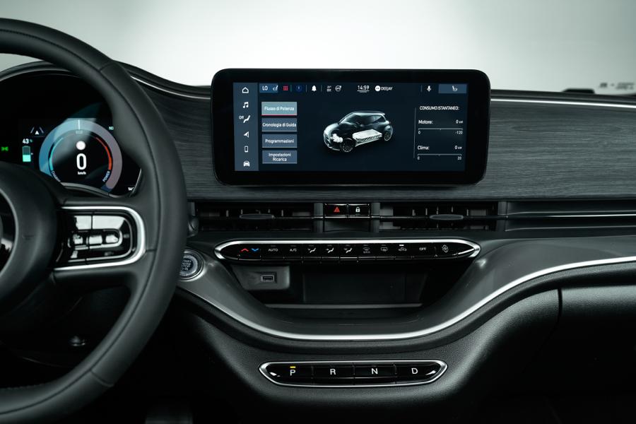 Infotainment di Nuova Fiat 500 3+1