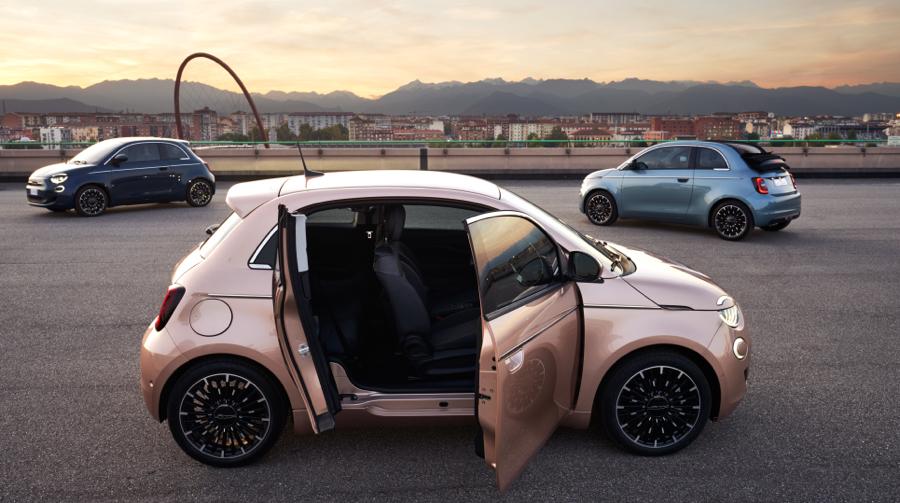 Portiere di Nuova Fiat 500 3+1
