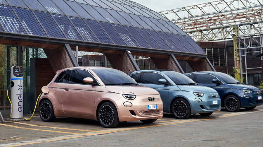 Ricarica di Nuova Fiat 500 3+1