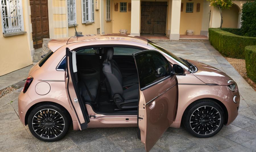Versioni di Nuova Fiat 500 3+1