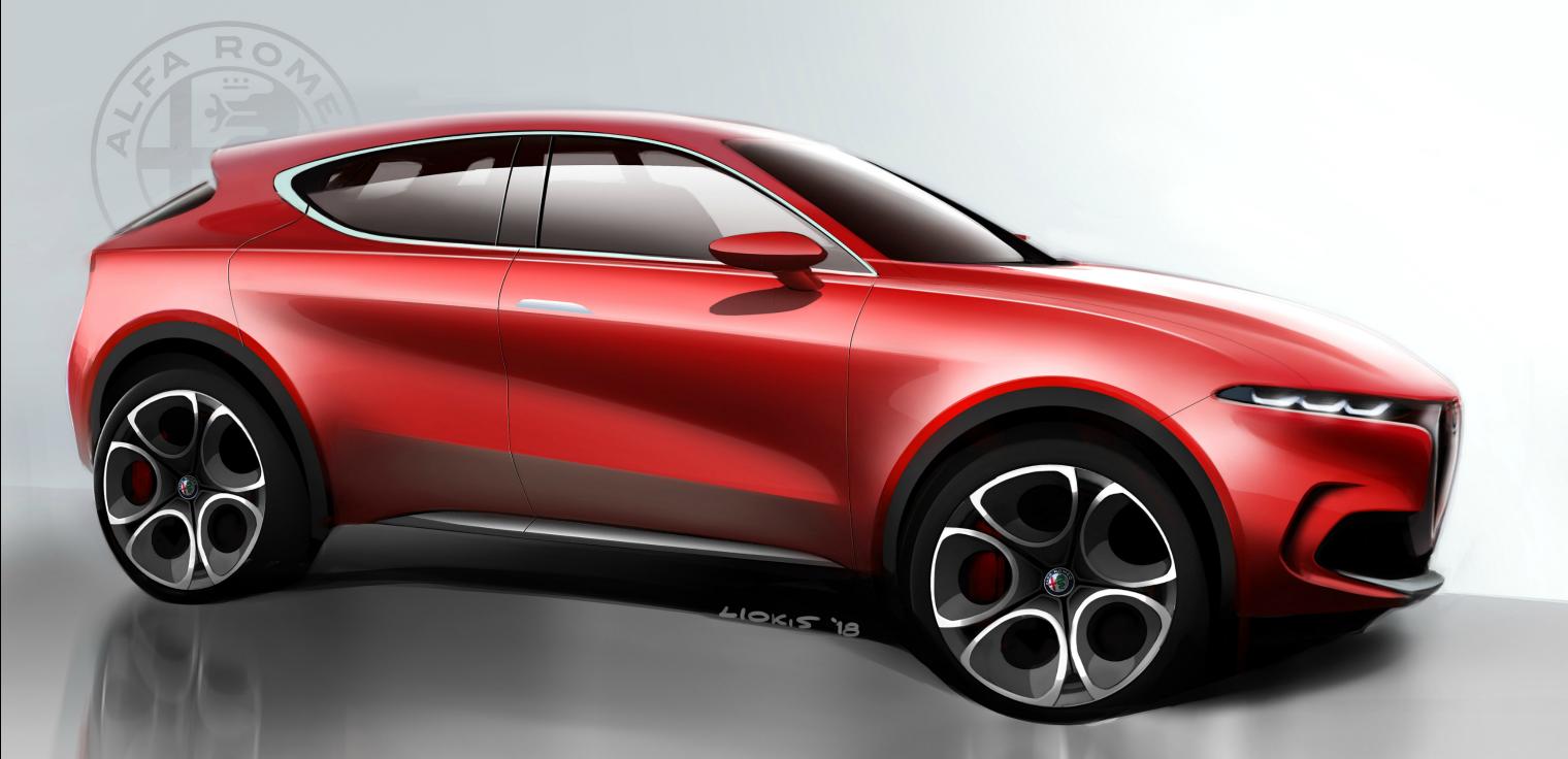 Lancio nuova Alfa Romeo Tonale 2020