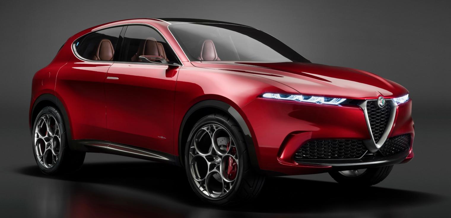 Nuova Alfa Romeo Tonale auto connessa