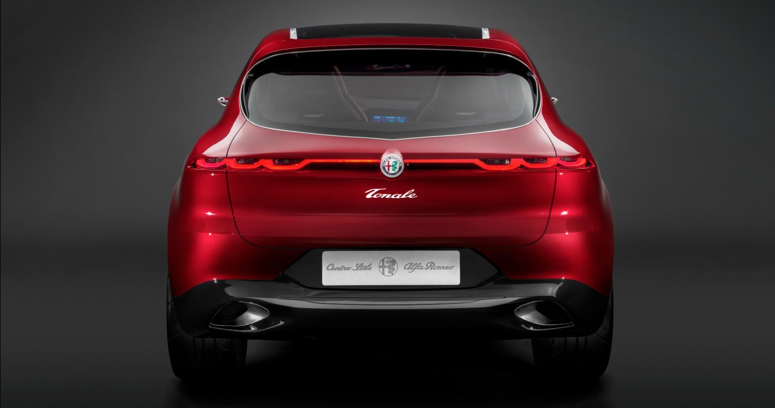 Retro nuova Alfa Romeo Tonale