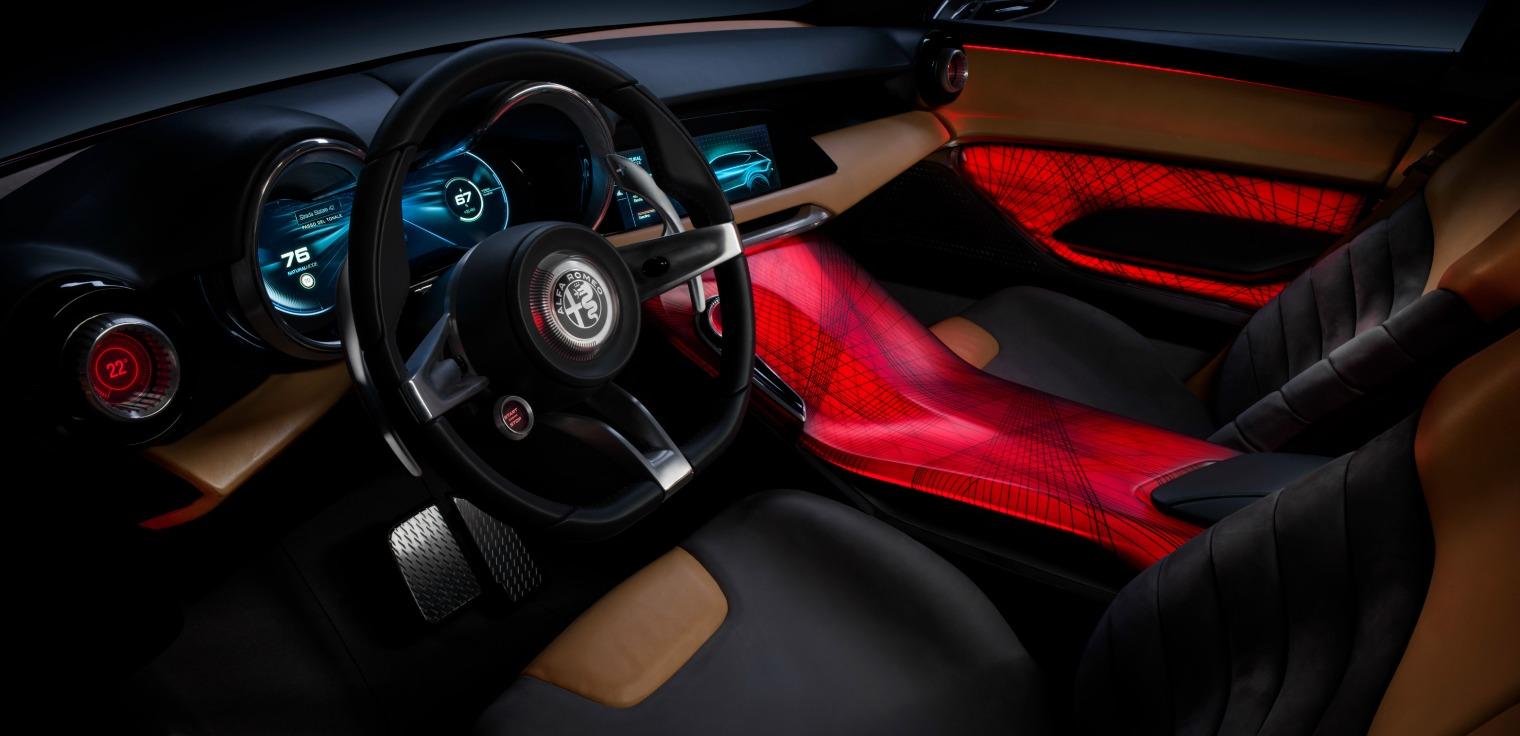 interni nuova Alfa Romeo Tonale