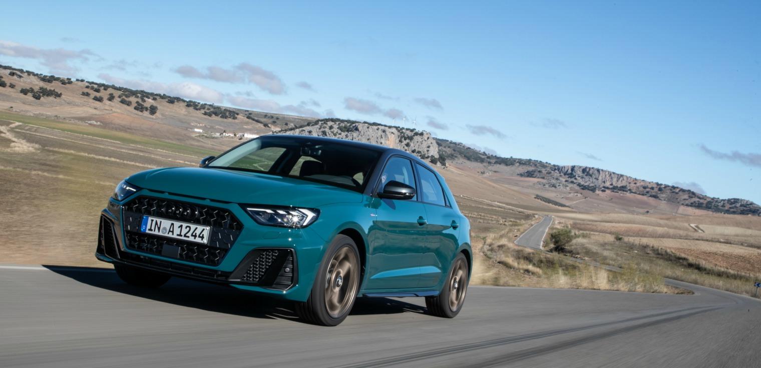 Audi A1 Sportback su strada