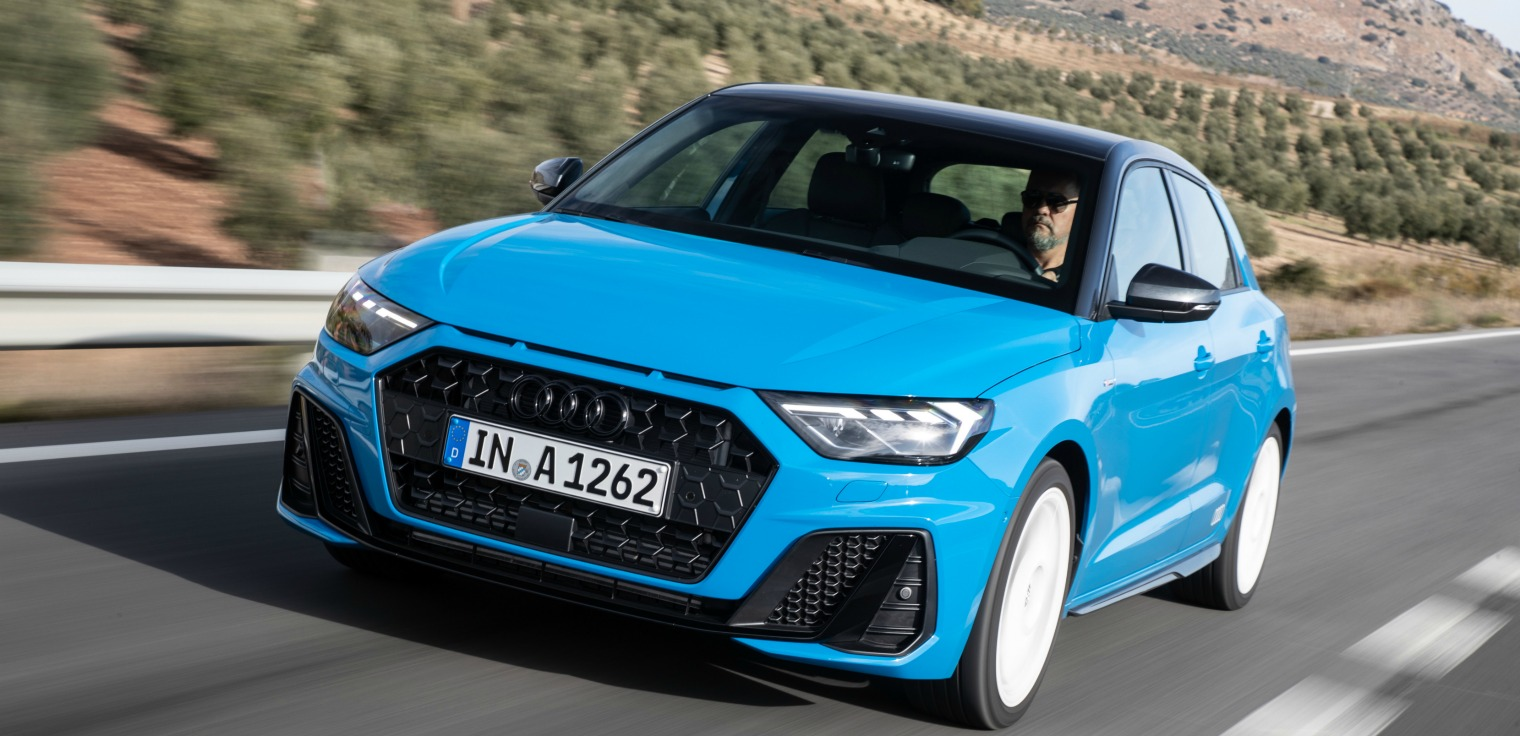 Audi A1 Sportback frontale