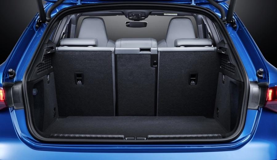 Bagagliaio di Nuova Audi A3 2020