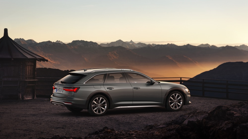 Sospensioni di Nuova Audi A6 Allroad