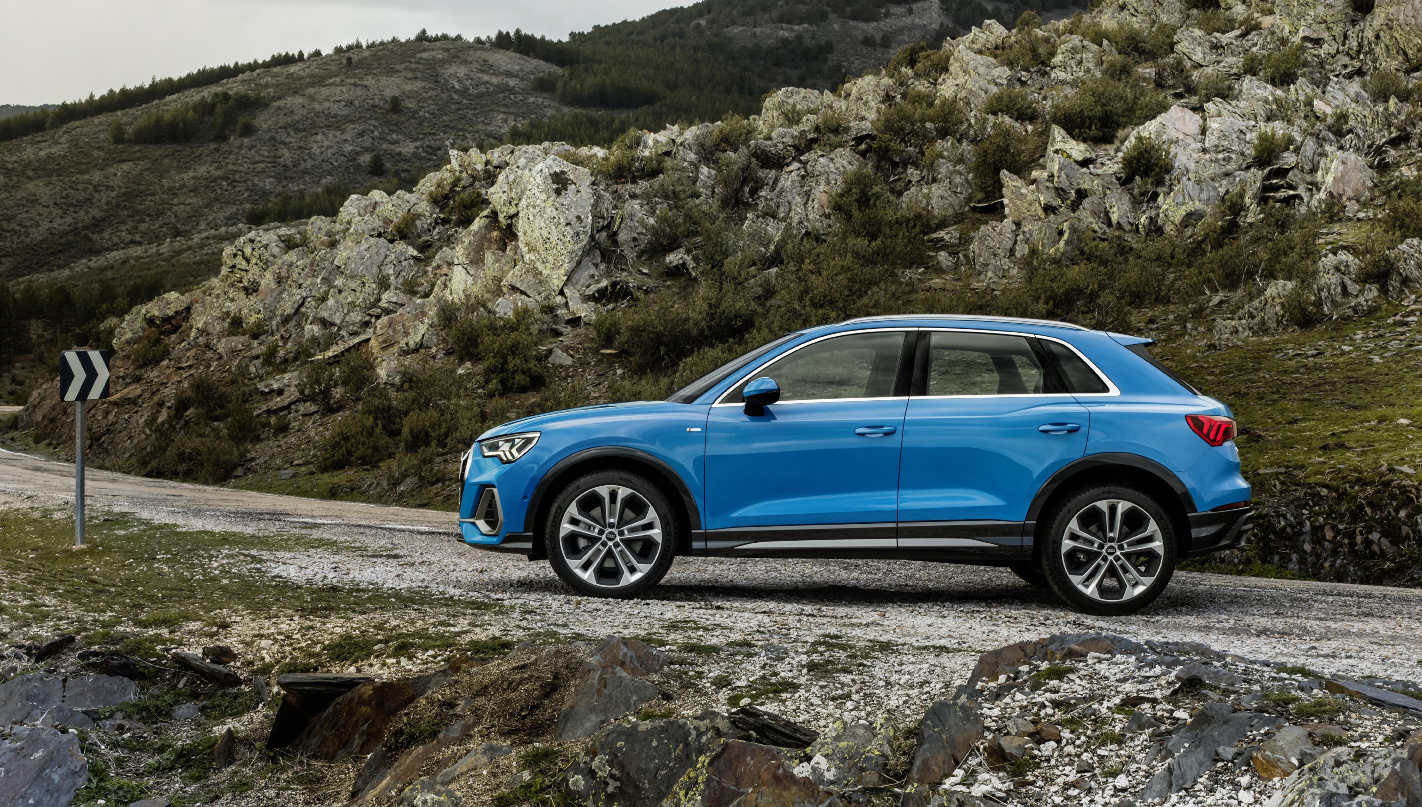 Esterni nuova Audi Q3