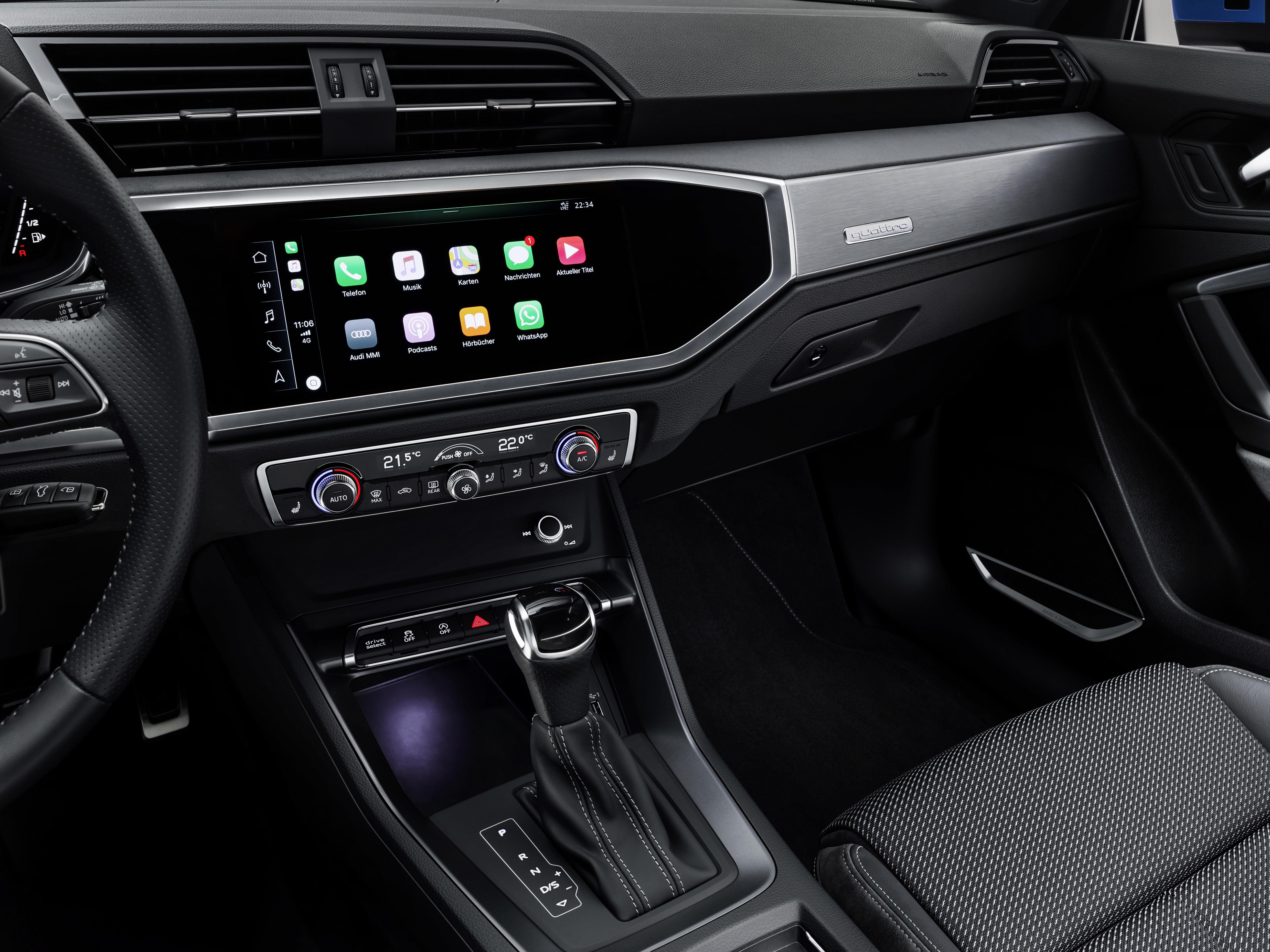 Tecnologia nuova Audi Q3