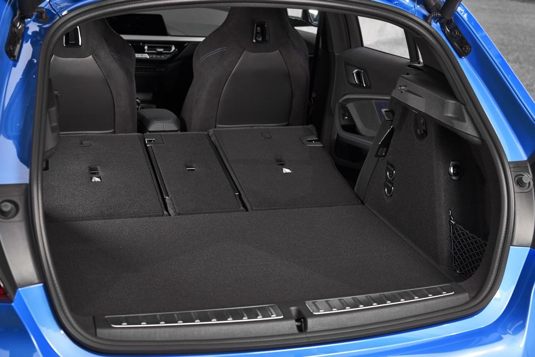 Bagagliaio di Nuova BMW Serie 1