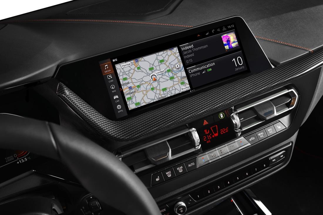 Infotainment di Nuova BMW Serie 1
