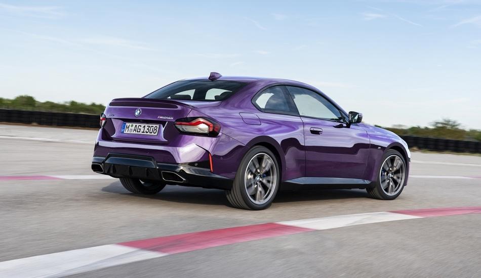Nuova BMW Serie 2 Coupe trazione posteriore