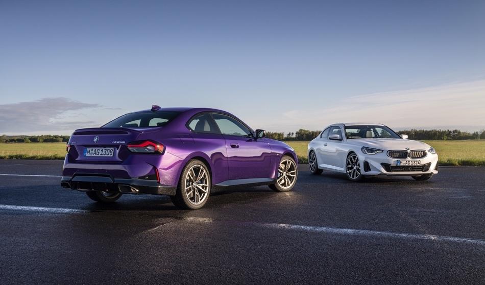 Uscita di Nuova BMW Serie 2 Coupe