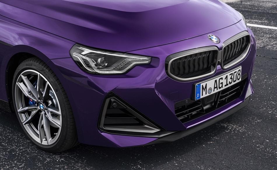 calandra di Nuova BMW Serie 2 Coupe