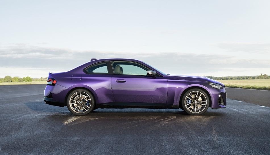 dimensioni di Nuova BMW Serie 2 Coupe