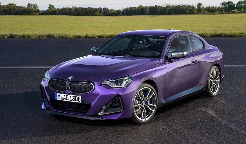 fari di Nuova BMW Serie 2 Coupe